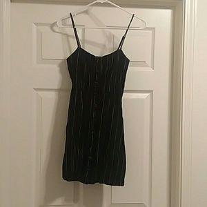 Pinstriped Forever 21 mini dress